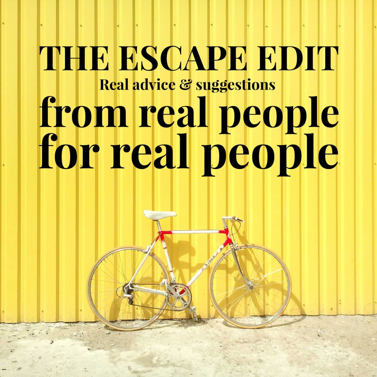 The Escape Edit