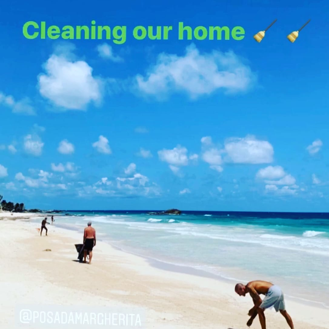 Cleaning our home