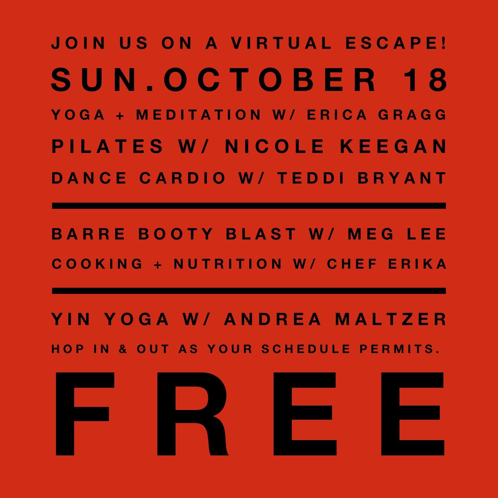 Virtual Escape to Shape